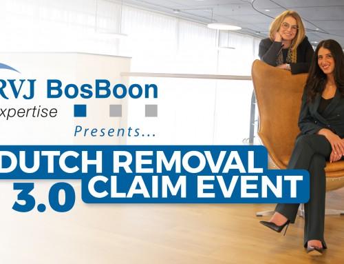 RVJ BosBoon presents Dutch Removal Claim Event 3.0