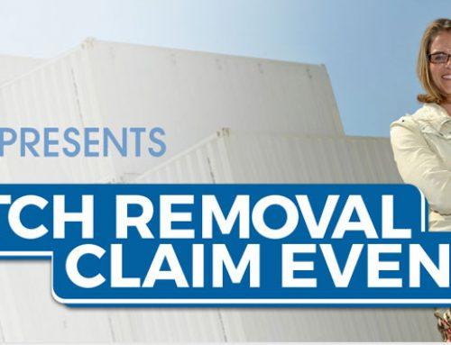 Dutch Removal Claim Event