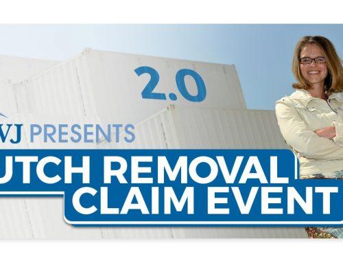 RVJ presents Dutch Removal Claim Event 2.0